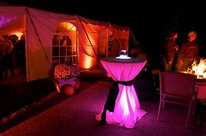 Dinner, Party, Lighting, For, Tables, Around, Pool
