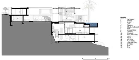 small home floor plan modern house designs de 34 by saota architecture beast