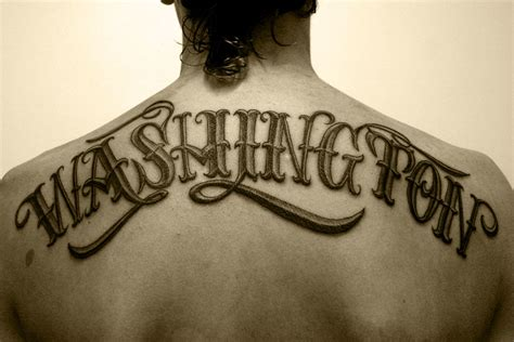 30 Typographic Tattoos