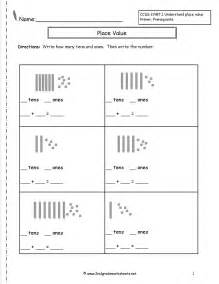 worksheets on place value for grade 1 second grade place value worksheets