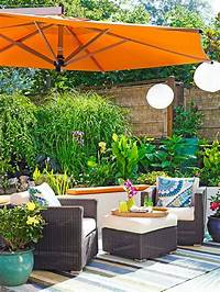 great tropical patio design ideas How to Create a Small Outdoor Oasis   Ideas 4 Homes