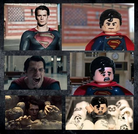 Deleted Man Of Steel Scenes Of Henry Cavill's Stunt Double