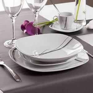 Service De Table Pas Cher : service de table 30 pieces pas cher ~ Teatrodelosmanantiales.com Idées de Décoration