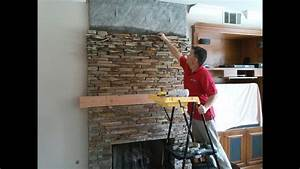How To Install Interior Stone Veneer On Drywall
