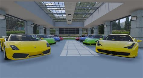 8 Car Garage Showroom Gta5modscom