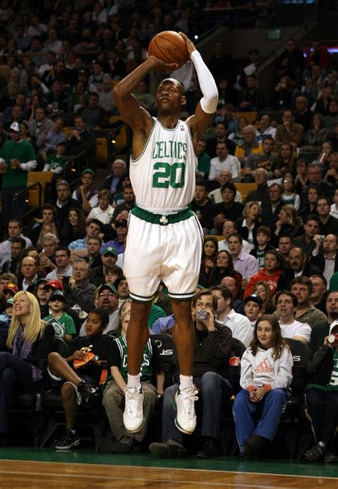 ray allen ray allen  indiana pacers  boston