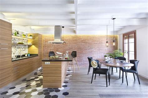 cocina  comedor integrados egue  seta interiorismo
