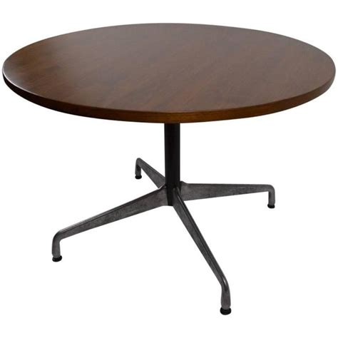 herman miller table base eames for herman miller wood top aluminium base dining