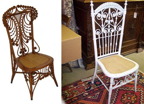 heywood wakefield wicker chair and i walked