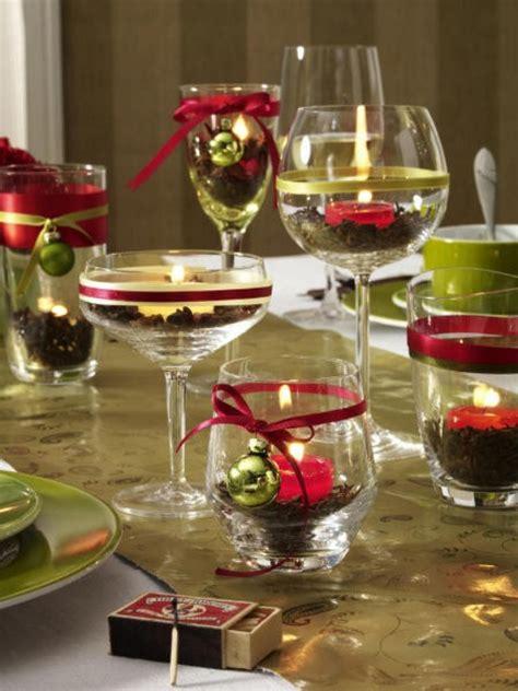 diy christmas table setting centerpieces ideas
