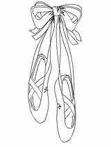 Ballet Coloring Pages Coloringpages1001 Ballerina Dance Printable Shoes Adult Shoe Pointe Slippers sketch template