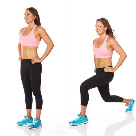 how to lunge a michelle bridges intense full body workout popsugar fitness australia