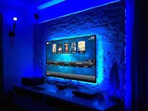 Tv Panel Selber Bauen : tv wand bauen und mit verblendern individuell arrangieren ~ Lizthompson.info Haus und Dekorationen