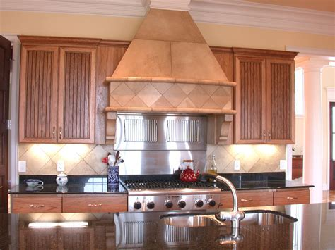 Stone Stove Vent Hood Remodel