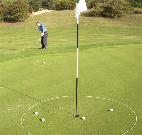 Backyard Golf Drills by Golf Ring Real Feel Golf Mats