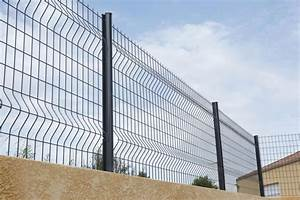 Grillage Soudé Gris : dirickx panneau de grillage soud axis s gris ral 7016 ~ Melissatoandfro.com Idées de Décoration