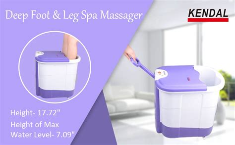 Amazon.com: All in one deep Foot & Leg spa Bath Massager w