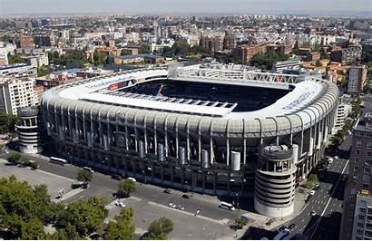 Madrid Stadium Bernabeu Santiago Aerial Pixelstalk Desktop