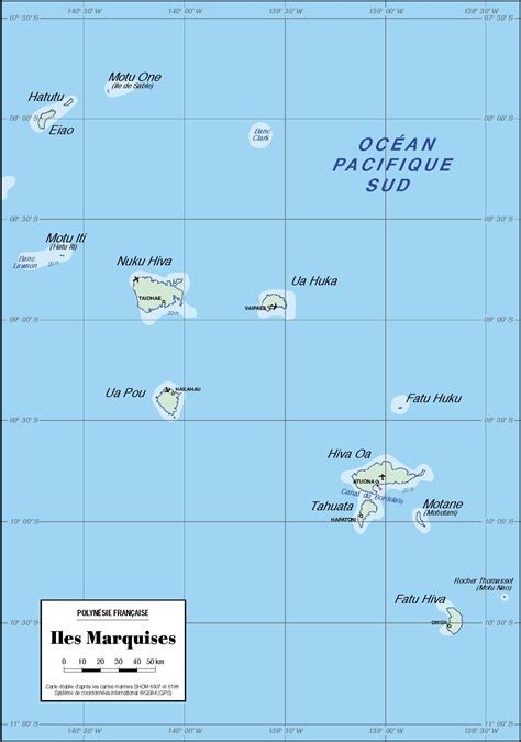 map of the marquesas islands carte des iles marquises expedition marquises etude