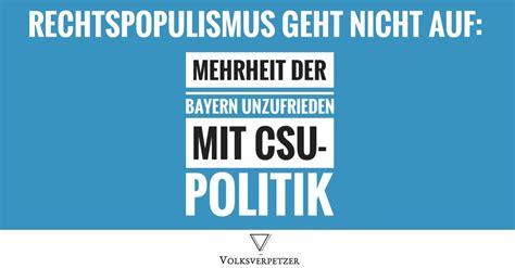 rechtspopulismus geht nicht auf selbst mehrheit der