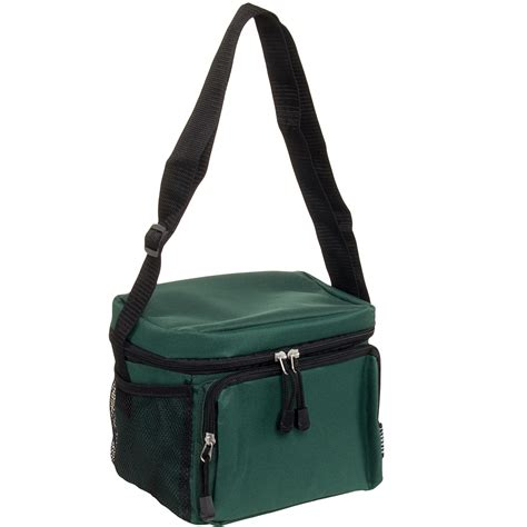 insulated lunch tote walmart everest insulated travel lunch bag cooler box w