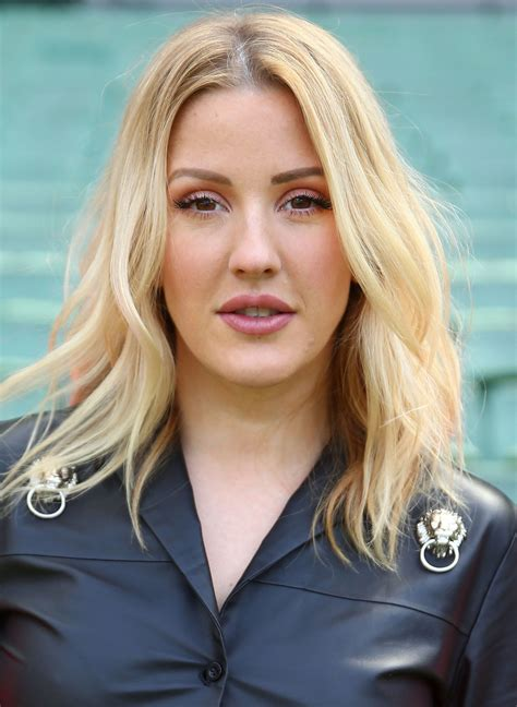 Ellie Goulding Has New Bright Yellow Hair Glamour