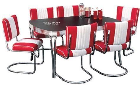 American Diner Furniture   Retro Diner Sets   50s American