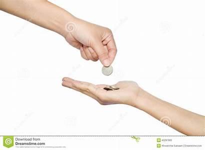 Argent Geld Geben Dinero Give Money Donnent