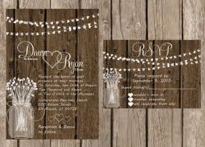 country themed wedding invitations rustic wedding invitation rustic wedding invitation wood wedding invitaiton country