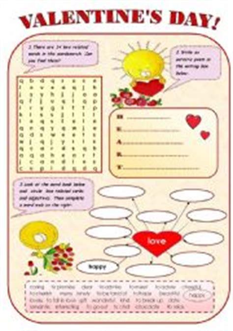 english teaching worksheets valentines