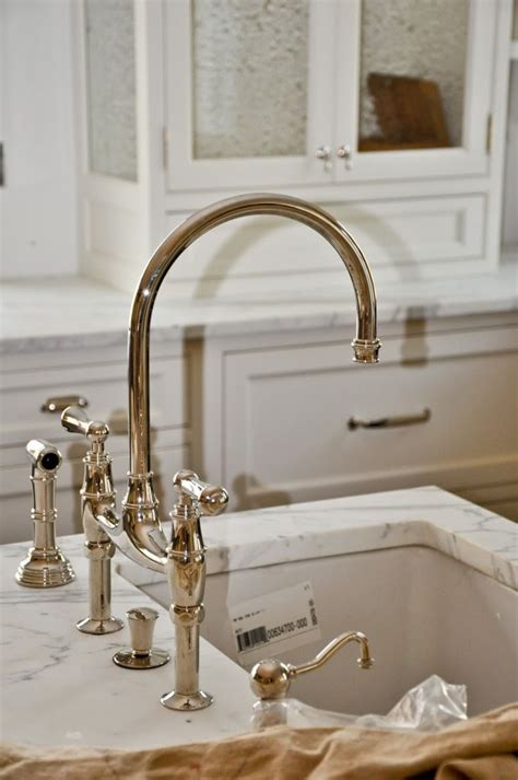 Kitchen Faucets Polished Nickel by Perrin And Rowe Bridge Faucet Polished Nickel