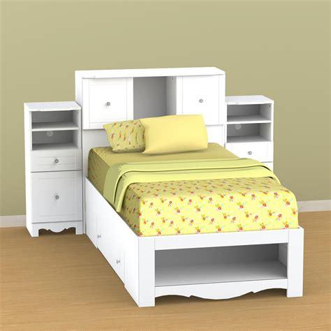 twin bookcase storage bed nexera pixel twin low bookcase storage bed n 314803set1