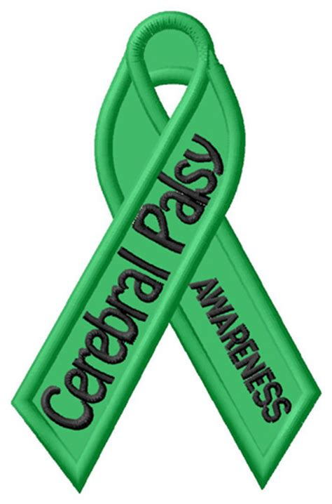 Cerebral Palsy Awareness Embroidery Design Annthegran