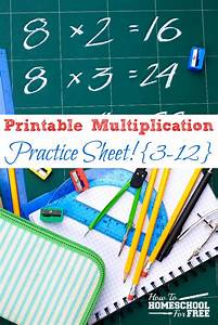 Free Printable Multiplication Practice Sheet For Numbers 3