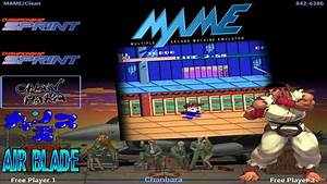 Ryu Street Fighter Theme  Layout  For Attract-mode