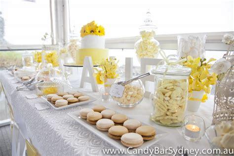 deco de table jaune mariageoriginal