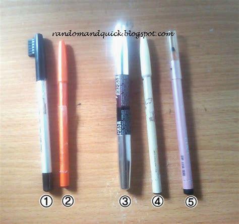Harga Wardah Pensil Alis random pensil alis dan eyeliner wardah viva