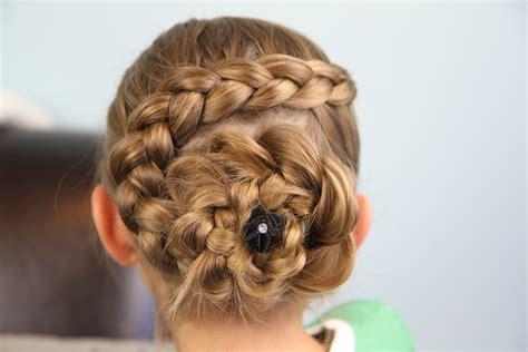 cute updo hairstyles with braids dutch flower braid updo hairstyles cute girls hairstyles