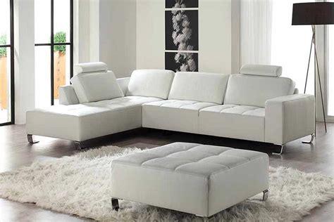 canape cuir angle blanc canapé d angle cuir blanc pas cher