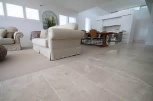 Marble Tile Flooring Living Room