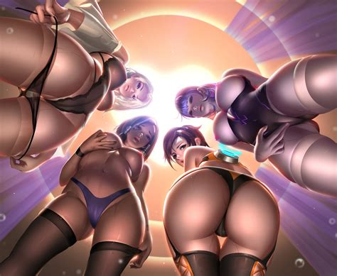 Ashe Pharah Tracer And Widowmaker A View From Rasti