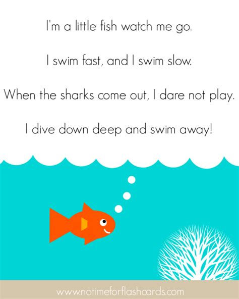 fish song for preschool no time for flash cards 327   little fish small
