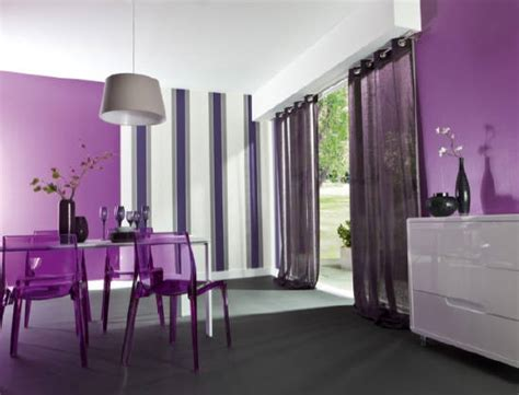inspiration d 233 co salon gris et violet