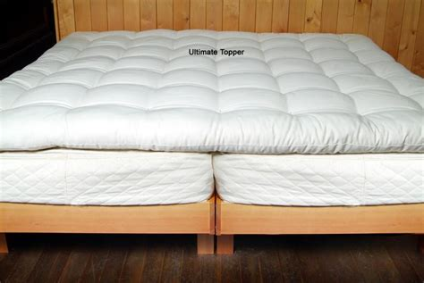 Organic Cotton & Wool Quilted Mattress Topper Dogs Nails On Hardwood Floors Black Oak Flooring Resurface Buy Engineered Austin Chesapeake Nyc Best Vacuum Cleaners For Carpet And