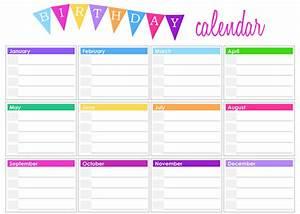 birthday calendar templates free calendar 2017 With birthday reminder calendar template