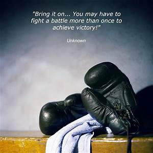 Boxing Gloves Q... Fight Boxing Quotes