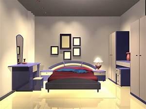 Modern Bedroom Design 3d Model 3dsmax Files Free Download