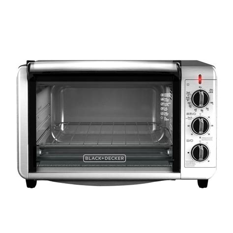 Black Toaster Oven by Black Decker 6 Slice Silver Toaster Oven To3230sbd The