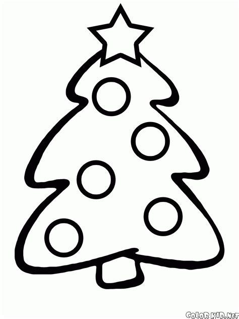 dibujo para colorear 193 rbol de navidad para los ni 241 os