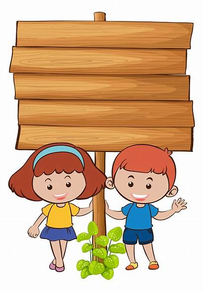 Board Wooden Vector Clipart Border Welcome Freepik